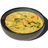 Yellow Thai Curry (Curry Amarillo) Pollo, Tofu o Langostinos-Tailandia