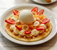 Waffle gourmet mix frutal individual