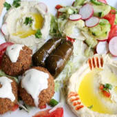 26.1. Combinado Vegetal - Con ensalada