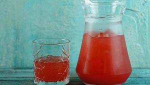 Лимонад полуничний (1л)