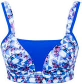 Digital soft cup sports bra