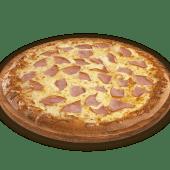 Pizza grande de un ingrediente