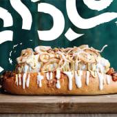 Hot dog al mercato
