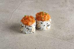 Spicy Salmon Uramaki (6 uds)