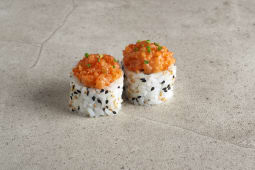Spicy Salmón Uramaki (8 uds.)