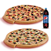 Maç Menüsü (Orta Boy Ekstra Pizzalar)