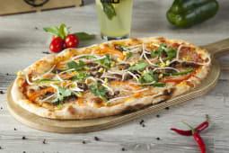 Бао Пицца с говядиной