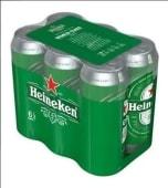 Heineken X 6 Latas 473Cc