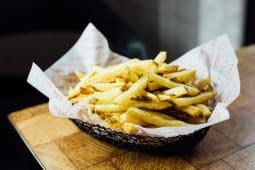 Patatas de montaña fritas