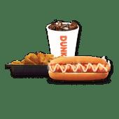კომბო ქათმის ჰოთ დოგი / Combo Chicken Hot Dog