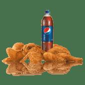 Combo familiar 8 Piezas de Pollo  + Refresco