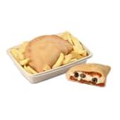 Menù panzerotto pomodoro + patatine fritte