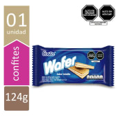 Wafer Costa Vainilla 124 Gr