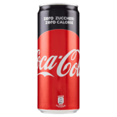 Coca-cola zero lattina