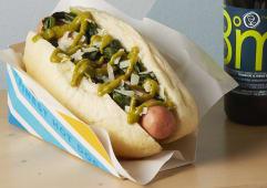 ZOE hot dog