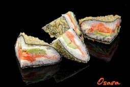 Теплий сендвіч з лососем (250г)