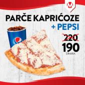 Pica parče + pepsi