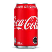 Coca Cola en lata (350 ml.)