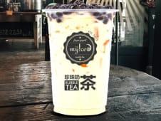 Milk tea de coco