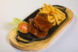 Pork Chops + Side