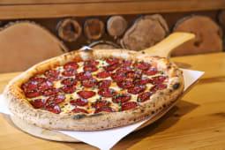 Pizza Beef salami