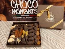 Frutta ricoperta di cioccolato fondente 70% - confezione da 600 g