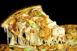 Combo pizza de camarones mediana