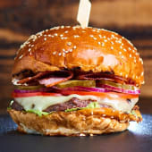 Meniu Bacon Cheeseburger vita