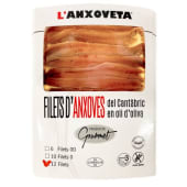 Filete De Anchoas Del Cantábrico. Anxoveta (12 Uds,)
