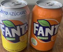 Fanta de naranja (330 ml.)