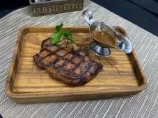 Striploin steak