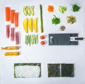 Futomaki, alga por fuera (10 piezas)