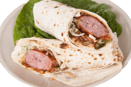 Люля-кебаб зі свинини та телятини в лаваші (300г)