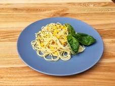 Спагетті з кукурудзою та кунжутом (150г)