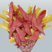 Salchicono (Salchichas + papas fritas)