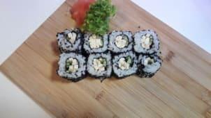 Uramaki tofu  ogórek