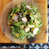 Ensalada verde (vegano)