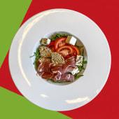 Салат із прошуто (200г)