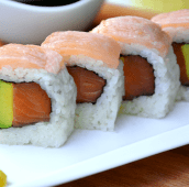 Dos salmones roll (5 uds.)