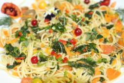 Esparguette de Legumes da Horta