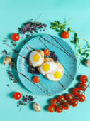 Біфштекс з перепелиним яйцем (175г)
