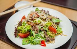 Салат з теплою телятиною (190г)