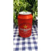 Cerveza Estrella lata (33 cl.)