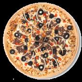 Pizza diábola (familiar)