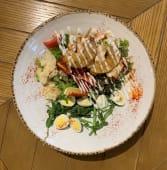 Салат з куркою та ананасом (330г)