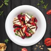 Salata mix cu ardei copt si sfecla