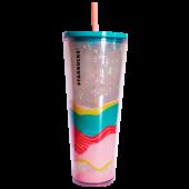 Topo plastic cold cup