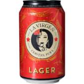 La Virgen Lager Lata (33 Cl.)