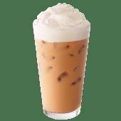 Café mocha blanco frío