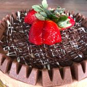 Cheesecake de Toblerone (8 porciones)